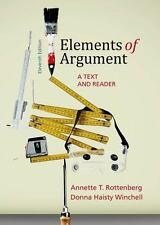 Elements of Argument: A Text and Reader Instructor Edition