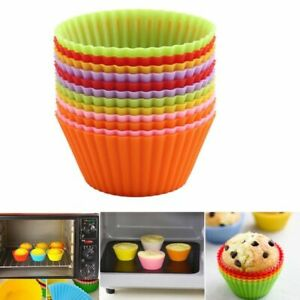 12/6/1pcs Silicone Cake Molds Cups For Kitchen Baking Tool Chocolate Cup Forms
