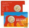 2016 Kangaroo Berlin Money Fair Buddy Bear Privy Mark One Dollar Australian coin