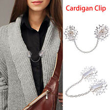 Clasps Shirt Collar Clips Cardigan Clip Christmas Gift Shawl Brooch Duck Clip
