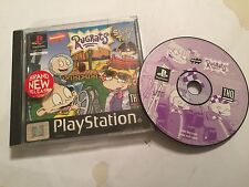 PS1 PLAYSTATION 1 GAME RUGRATS STUDIO TOUR BOXED PAL