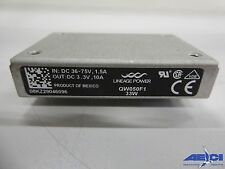 LINEAGE QW050F1 33W CONVERTER DC/DC - IN: DC36-75V 1.5A, OUT: DC 3.3V 10A