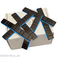 25 Riegel SCHWARZ Auswuchtgewichte 5g*4+10g*4 Klebegewichte 1,5KG Kleberiegel