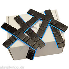 50 Bar Black Wheel Weights 5G 4+10G 4 klebegewichte 3kg Adhesive Bars