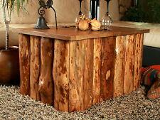 Tisch Truhe Holztruhe Designer Couchtisch Kaffeetisch Holz Kiste Rustikal Unikat