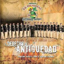La Original Banda El Limon De Salvador L : Derecho De Antiguedad CD