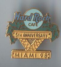 Hard Rock Cafe Miami 5th Anniversary LE