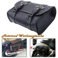 Motorrad Hecktasche Sissy Bar Sack Gepäcktasche Satteltasche Schwarz Für Harley