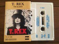 T.REX...THE SLIDER - - Rare Australian AXIS Cassette...Play Tested! GLAM ROCK