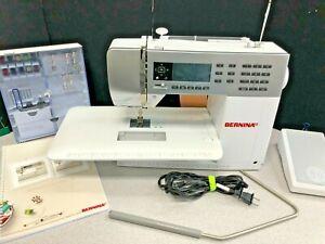Bernina 550 QE Sewing Machine with wheeled tote