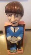 The Beatles Soaky BOX bubble bath Colgate Palmalove Ringo figure DISPLAY Box