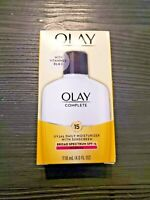 Olay Complete Lotion Moisturizer with SPF 15 Normal, 4.0 fl oz