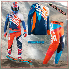 COMPLETO MOTOCROSS ENDURO ACERBIS SPECIAL EDITION STORMCHASER 2018 TAGLIA XL  36