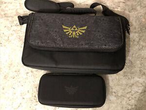 Nintendo Switch Zelda Messenger Bag And Case ( Used)