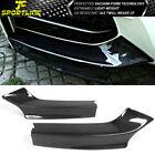 Fits 14-21 BMW 2 Series F22 F23 M Sport MP Style Front Bumper Lip Splitter CF