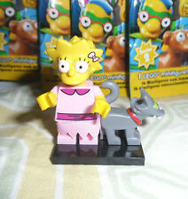 LEGO The Simpsons Minifigure LISA SIMPSON Cat Snowball II Series 2 2015 Completo