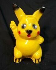 """Vintage Pokemon Pikachu 10""""  Figure BankPlaster."""