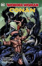 WONDER WOMAN / CONAN HARDCOVER Dark Horse DC Comics Collects #1-6 HC