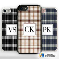 PERSONALIZED PLAID FASHION GRID NAME CUSTOM TUMBLR CUTE PATTERN Phone Case Cover