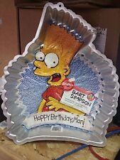 Bart Simpson 1990 Wilton Cake Pan w/ Insert 2105-9002 Birthday Mold