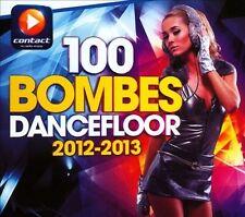VARIOUS ARTISTS - 100 BOMBES DANCEFLOOR 2012-2013 [DIGIPAK] NEW CD