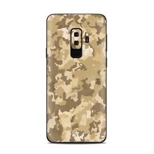 Samsung Galaxy S9 Plus Skins Decals - Brown Desert Camo camouflage
