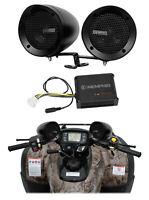 Memphis Audio ATV Audio System Handlebar Speakers For Kawasaki Brute Force