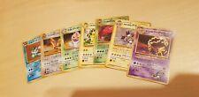 Pokemon Lot Holo Cards Japanese Team Rocket Jungle Gym Set