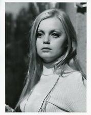 ALEXANDRA HAY PRETTY PORTRAIT CBS PLAYHOUSE SHADOW GAME ORIG 1967 CBS TV PHOTO