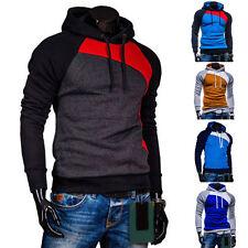 Herren Winter Kapuzenpullover Warm Kapuzen Sweatshirt Jacke Outwear Pullover