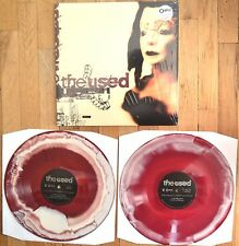 The Used - The Used Red/White  Swirl Vinyl 2xLP New Sealed OOP /1500