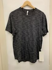 Lululemon Fresh Move Ss Nwt Blk Shirt Top Men's Dark Gray Color X-Static