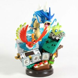 Limited Edition Rare Pokemon Collectible Statue/Figure Ho-Oh Gyarados Celebi DS
