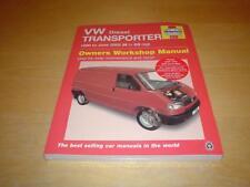 Haynes VW TRANSPORTER (90-03) T4 CARAVELLE COMBI Owners Workshop Manual Handbook