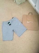 Nike Brand New Jersey Shorts Grey Size.XL With Pockets