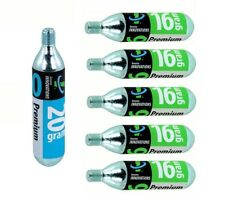 6-Pack Genuine Innovations Threaded CO2 Refill Cartridges 16g & 20g
