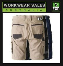 FXD WS1 Cargo Work Shorts WS-1 Mens Work Shorts Free Postage Aust Wide