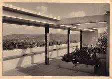 Original petit Estate CARTE POSTALE LE CORBUSIER House 1927 reprit Bauhaus