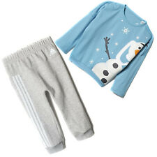 adidas X Disney Olaf Die Eiskönigin Mädchen Kinder Jogger Hose + Sweatshirt Set