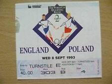 England Surname Initial Q Football Tickets & Stubs