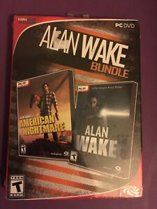 Alan Wake Bundle - American Nightmare & Alan Wake (PC Games) - NEW ™