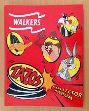 Walkers Collectable TAZOS With Folder 1996
