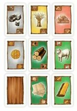 CATAN SPARE REPLACE RESOURCE CARDS ADD ON base + cities & knights COMPLETE SETS