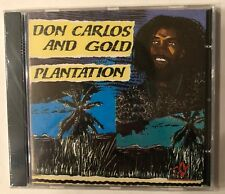Don Carlos and Gold 'Plantation' CD Tamoki-Wambesi-Dove Roots Reggae NEW - Rare!