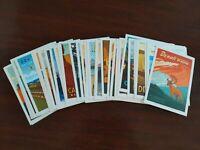 100th Anniversary National Park Service 2016 Commemorative Postcard USA 47 cards