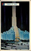 New York Amerika USA AK ~1961-63 World Fair Weltausstellung Tower of Light