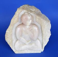 BUDDHA - aus massiven Rosenquarz ausgearbeitet - ca.70iger  - 25 cm - 8,4 KG -