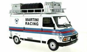 FIAT 242 Martini Rally Race Team Assistance vehicle model 1:18th IXO 18RMC059XE