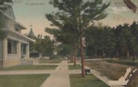 Postcard Forth Smith AR Residential Homes N. 14th Street Early 1900s