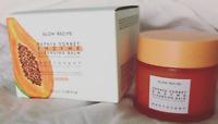 New Glow Recipe Papaya Sorbet Smoothing Enzyme Cleansing Balm & Makeup Remover
